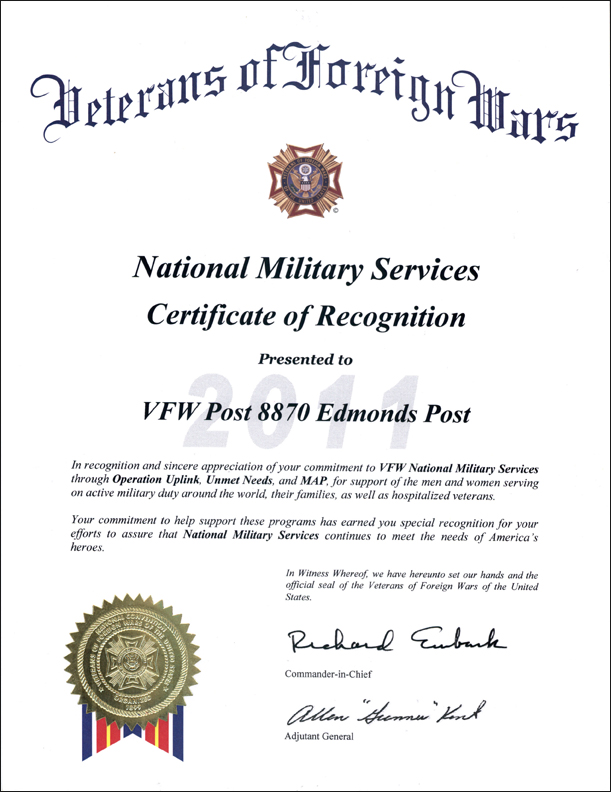 National Military Services