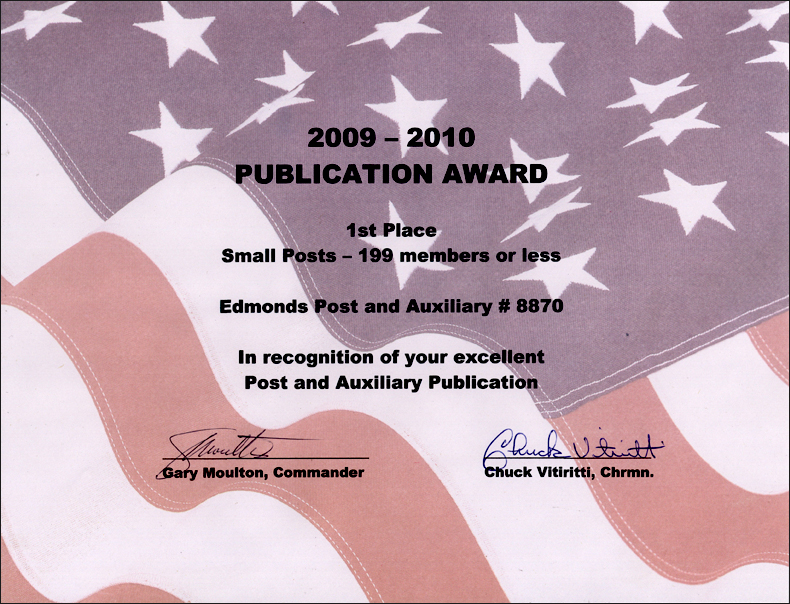 Publication Award