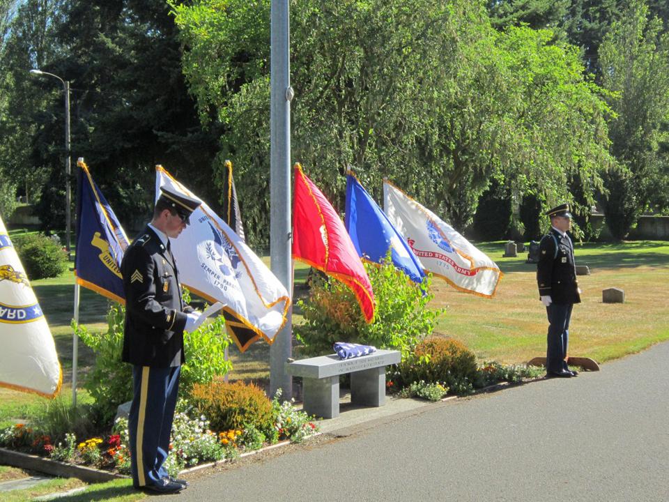 Post Participates in Memorial Service