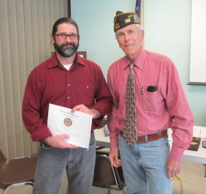 VFW 8870 Forensic Archeologist Visits Post