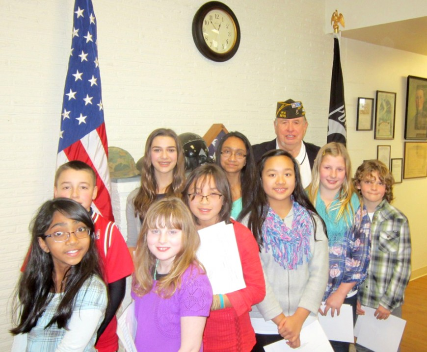 VFW 8870 Student Essay, Patriots Pen, & Voice of Democracy Winners Announced