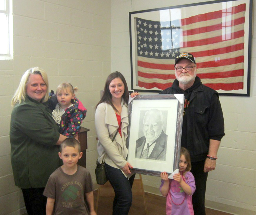 Mike Reagan Honors Memory of Past Post Commander Duane Pounds