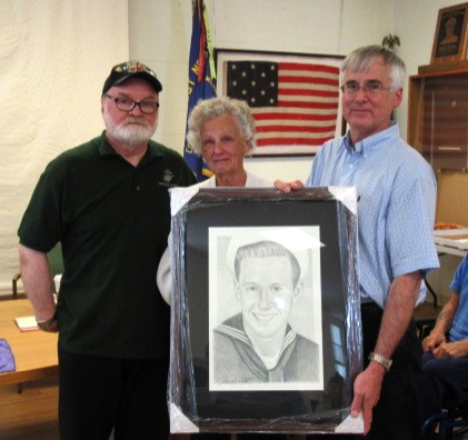 Memory of Past Commander Dennis Gaasland Honored