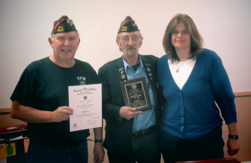 Jim Traner Recognized for District Newsletter