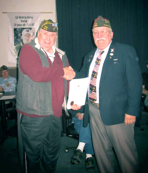 Post Receives National VFW Recognition