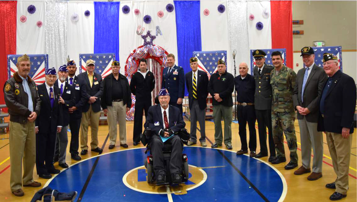 Veterans Honored at Holy Rosary School Spring Concert