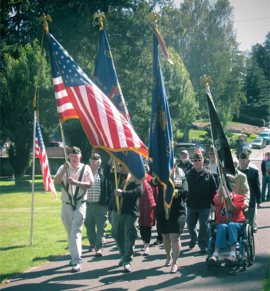 Edmonds Cemetery Memorial Day Observance - 2016