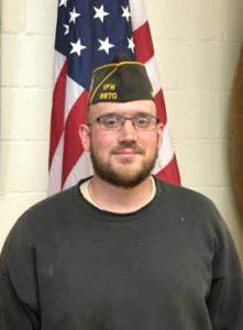 VFW Post 8870 new member Christopher Mazerolle