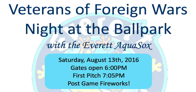 Veterans of Foregn Wars Night at the Ballpark