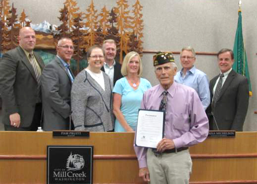 POW/MIA Mill Creek Proclamation