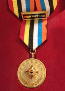 Korean Ambassador for Peace Medal