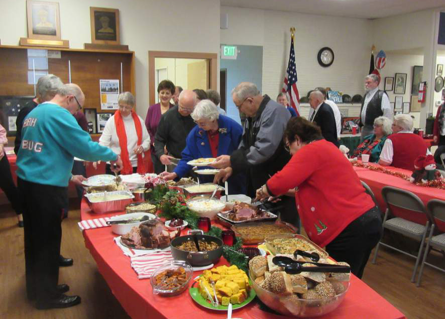 VFW - Legion Christmas Party a Smashing Success!