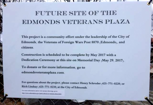 Veterans Plaza Report