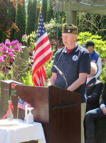 Memorial Day Observance at Edmonds Cemetery