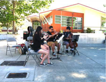 September Concert in the Edmonds Veterans Plaza