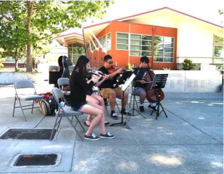 September Concert in the Edmonds Veterans Plaza