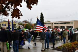 First Annual Veterans Day Ceremony at Edmonds Veterans Plaza