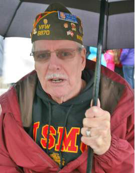 John Shelton, VFW Post 8870 Guard, Featured in Edmonds Beacon