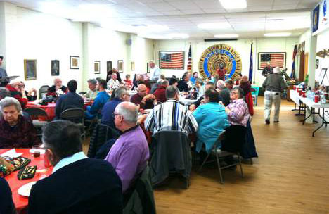 Annual Legion/VFW Joint Christmas Party Held