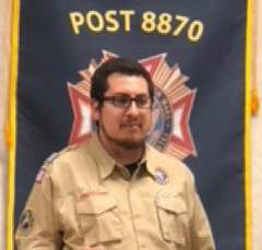 Jose Rodriguez, Puget Sound District Executive for the Boy Scouts of America