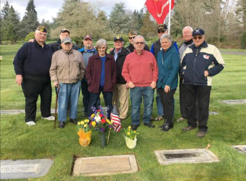 Mike Reagan and Friends Honor Fallen Comrades