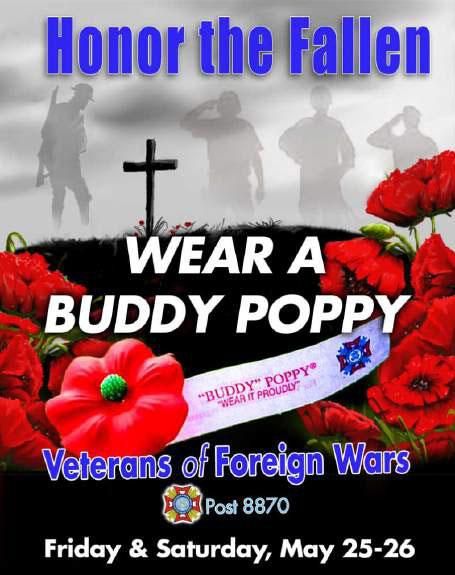 Memorial Day Poppy Distribution