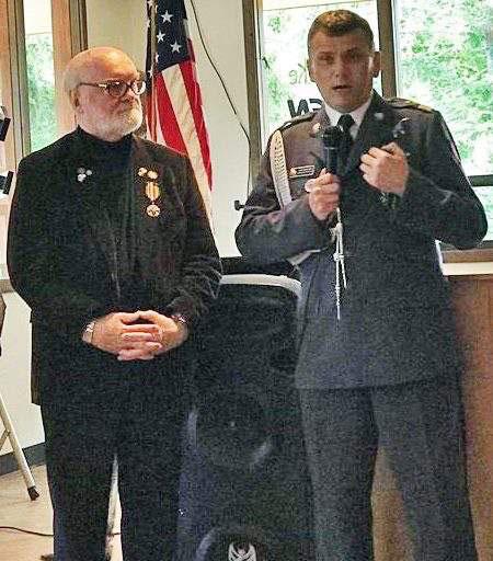 Reagan Awarded Polish Medal
