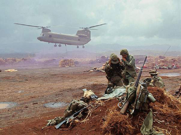 Marines Observe 50th Anniversary of Khe San Siege