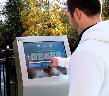New Information Kiosk Set for Veterans Plaza