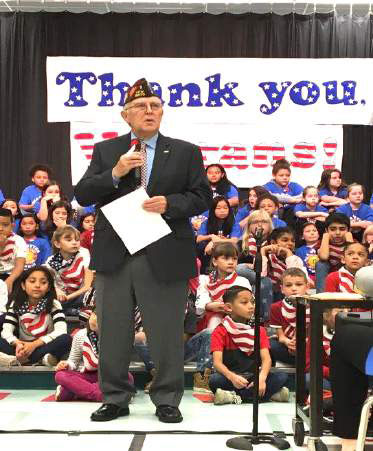 Veterans in the Schools