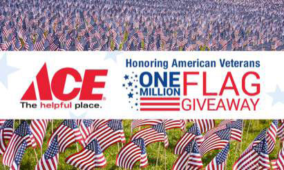 ACE 1 Million Flag Giveaway