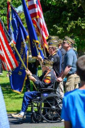Memorial Day at Edmonds Cemetery