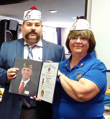 VFW District 1, Dept. of Washington Is All-American