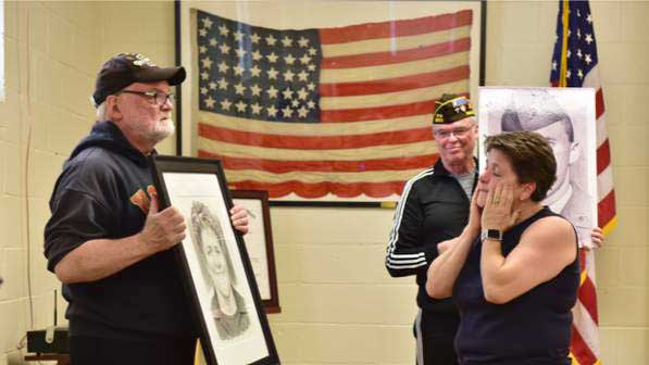 Veterans Plaza Committee Honors Carrie Hite