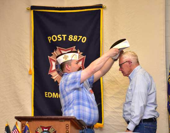 District 1 Commander Visits Post 8870