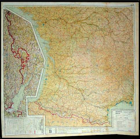 Silk Maps - WWII POW Escape Aids
