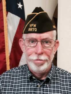 VFW Post 8870 Adjutant Jim Murdock