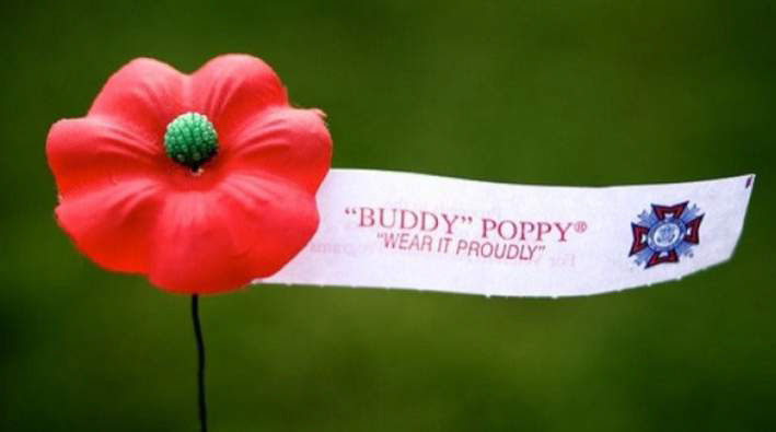 Veterans Day Poppy distribution