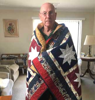 Post 8870 Members Awarded Quilts of Honor
