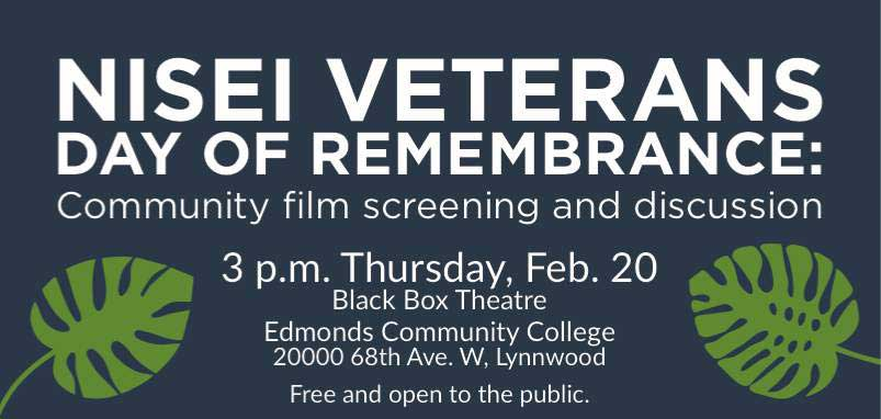 Nisei Veterans Day of Remembrance: Community film screening and discussion