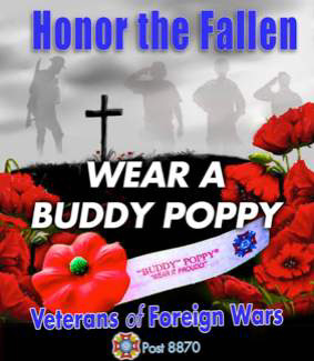 Memorial Day Poppy Drive Results
