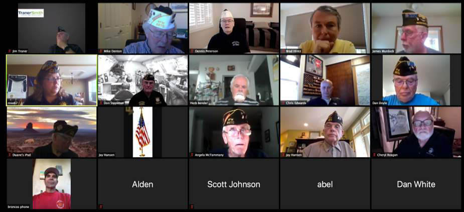 June Virtual Post meeting