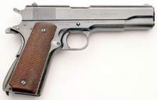 POW Trivia: The M1911A1 .45 caliber Semi-automatic Pistol