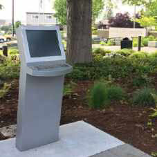 Edmonds Veterans Plaza Kiosk