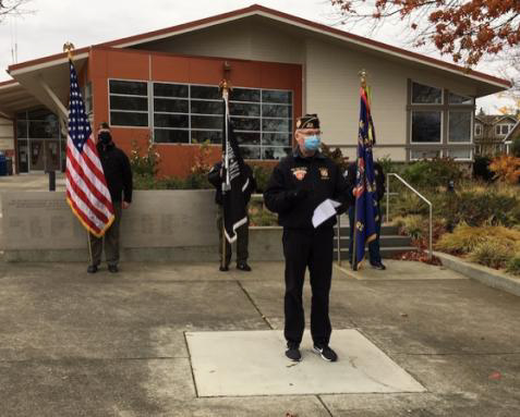 Post 8870 Veterans Day Observance