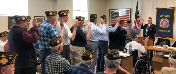 VFW Post 8870 Proposed 2021-2022 Officers